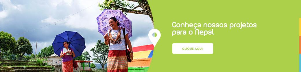Conheça nossos projetos para o Nepal