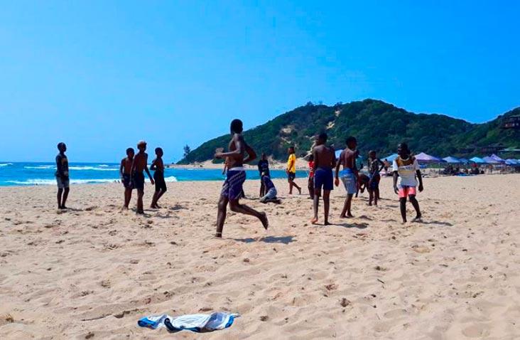 trabalho voluntário em moçambique